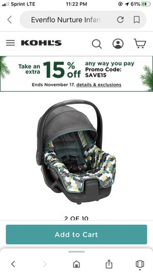 New car seat and base for Sale in Sulphur, LA