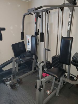 Nordictrack Elliptical and Weider Pro power Stack for Sale in Alameda, CA