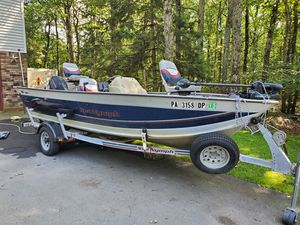 1997 Sea nymph Fishing boat bass boat for Sale in Milford, PA