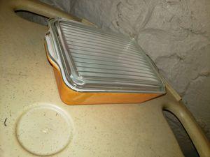 Vintage pyrex orange color casserole dish for Sale in Erie, PA