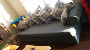 Blue Sofa and Loveseat for Sale in Halifax, VA