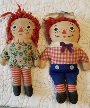 Well loved Raggedy Ann and Andy for Sale in Spanaway, WA