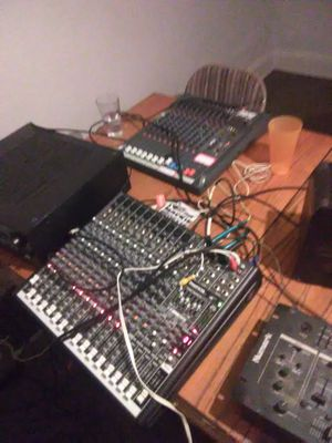 Mackie profx 16 digital mixer with other DJ equipment for Sale in Pittsburgh, PA