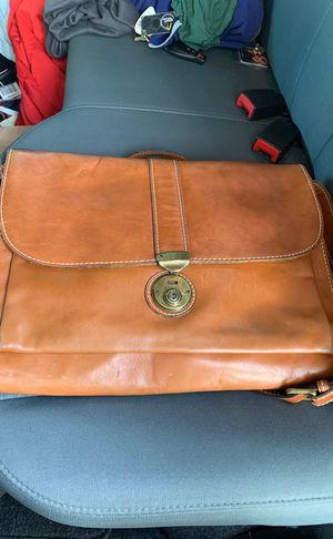 Leather Macy's over the shoulder laptop bag/ ogio backpack for Sale in Nashville, TN