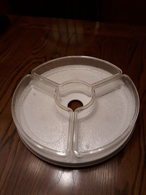 Lazy Susan with 3 liquid filled freezable sections for Sale in Oviedo, FL