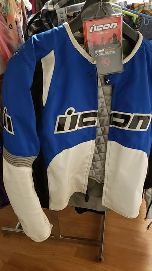 Motorcycle jacket size large for Sale in Clementon, NJ