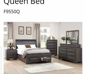 BRAND NEW QUEEN SIZE BED FRAME ADD MATTRESS AVAILABLE USA MEXICO FURNITURE for Sale in Chino, CA