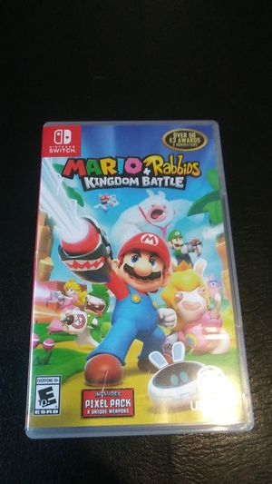 Mario+Rabiids Nintendo switch for trade or sale for Sale in Tampa, FL
