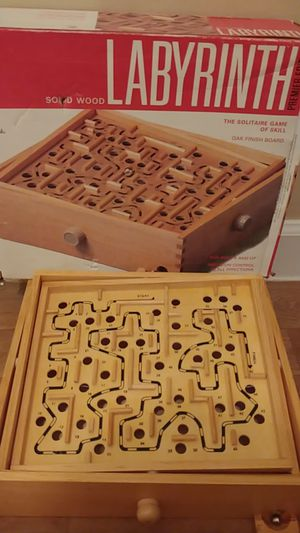 Solid Wood Labyrinth for Sale in TEMPLE TERR, FL