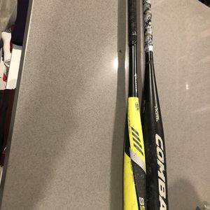 Combat And Easton Baseball Bats for Sale in Anaheim, CA
