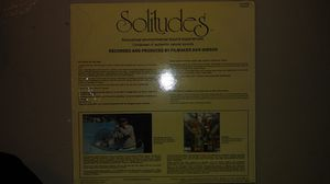 LP Record - SOLITUDES - Soothing Accoustical Environmental Sound Experience for Sale in Cuyahoga Falls, OH