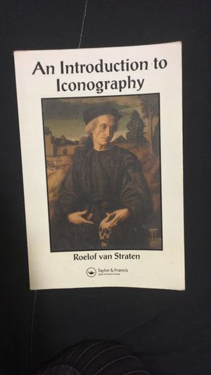 """""""Introduction to Iconography"""" by Roelof van Straten for Sale in El Cajon, CA"""