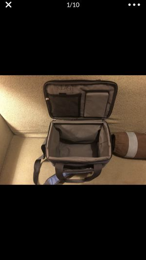 lunch box bag cooler side pockets handles with hard ish foam bottom camping picnic lunch for Sale in Portland, OR