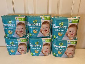 Pampers diapers size 4 for Sale in Dallas, TX