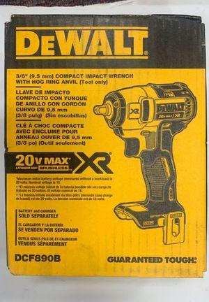 """Dewalt 3/8"""" Impact Wrench Brushless XR 20V for Sale in Norwalk, CA"""