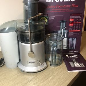 Breville Juice Fountain Plus for Sale in Rosharon, TX
