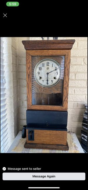Antique Time Clock for Sale in Oak Brook, IL