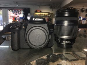 Canon E05-600D Digital Camera with 18-200mm Lens for Sale in Raleigh, NC