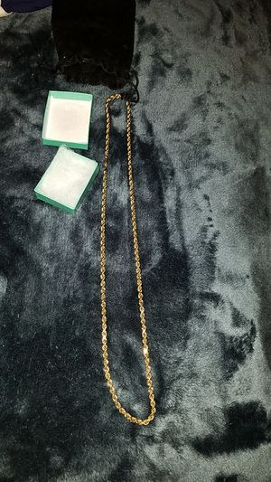 14k gold chain for Sale in Perris, CA