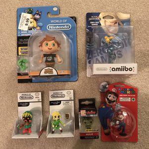 Nintendo figures figurines world of nintendo mario zelda animal crossing hulk pop figure for Sale in Burtonsville, MD