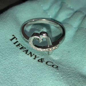 Tiffany & Co. Diamond Heart Ring size 9 for Sale in Garden Grove, CA