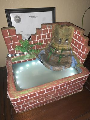 Mini indoor water fountain for Sale in Port Richey, FL