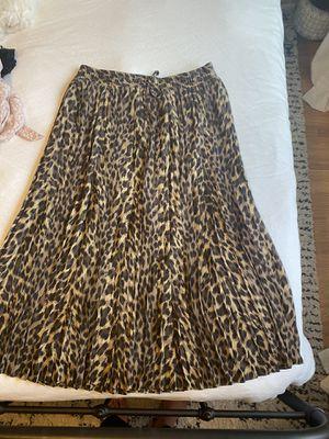 Pleated Leopard Skirt - Banana Republic for Sale in Seattle, WA