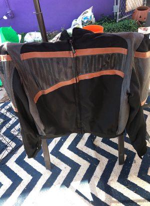 Men's lx Harley Davidson ventilated motorcycle jacket for Sale in Phoenix, AZ