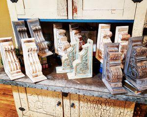 Pair bookends corbels for shelves mantles kitchen islands for Sale in Windermere, FL