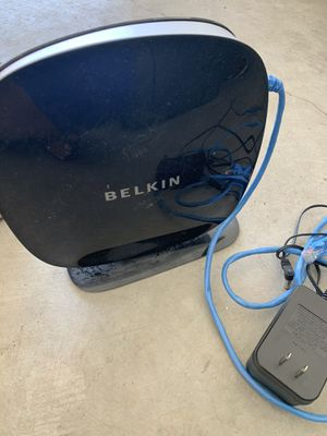 Belkin modem for Sale in Pumpkin Center, CA