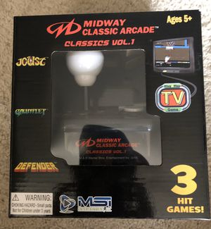 Midway classic arcade game for tv for Sale in Washington, DC
