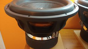 (2) 15in subwoofers d2 for Sale in Peoria, AZ
