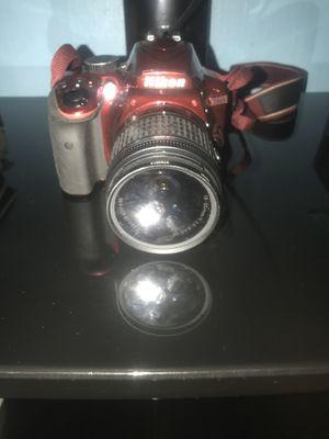 Nikon D D3400 24.2MP Digital SLR Camera - Red (Kit w/ AF-P DX 18-55mm Lens) BUNDLE for Sale in Philadelphia, PA
