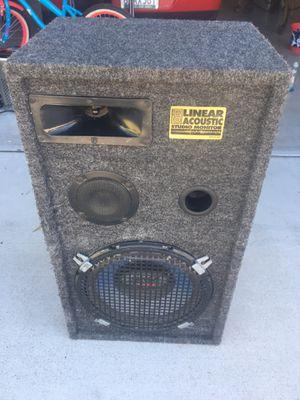 Linear Acoustic Studio Monitor. Make me offer for Sale in Las Vegas, NV