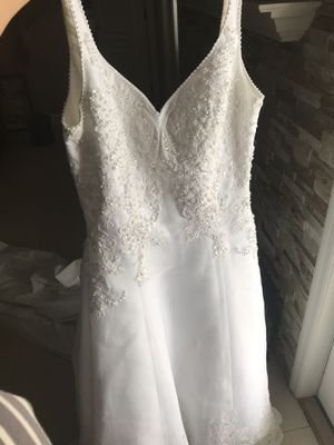 Wedding dress size 12 for Sale in Plant City, FL