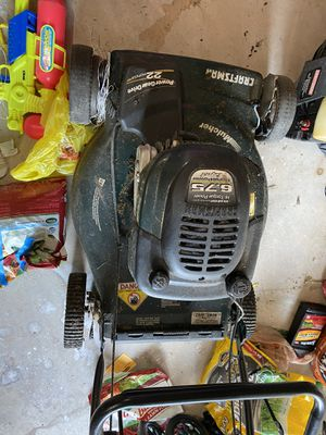 6.75 hp craftsman lawn mower free for Sale in Franklin Township, NJ