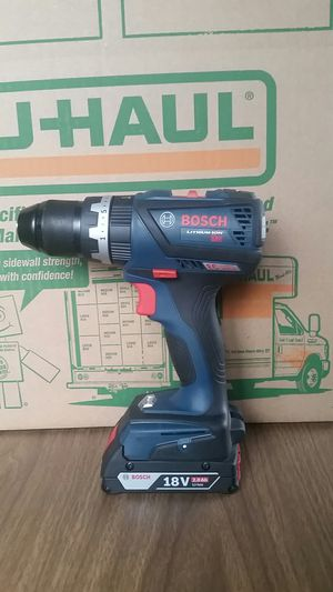 Bosch Cordless impact drill, wireless, 18V New Battery for Sale in Urbana, IL