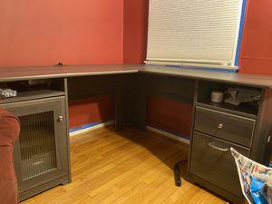 Office Starter Bundle (Desk, Laser Printer, Toner, Keyboard, & Mouse) for Sale in Baltimore, MD