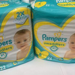 Pampers Size 4 for Sale in Los Angeles,  CA