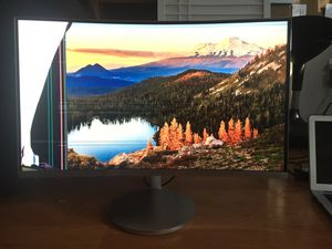 """27"""" Curved Monitor for Parts for Sale in Portland, OR"""