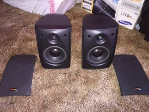 2- Polk Audio RM6751 satellite speakers for Sale in Monterey Park, CA