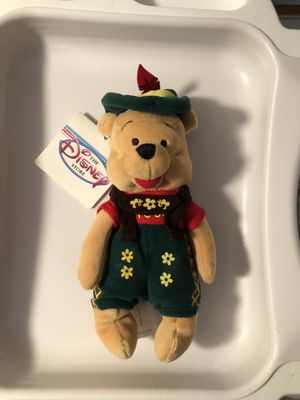 Disney Octoberfest Winnie beanie doll for Sale in Chicago, IL