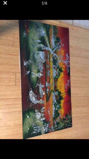 4 piece Asian picture for Sale in Peoria, AZ