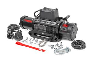 Rough Country 9500lb Pro Series Electric Winch | Synthetic Rope for Sale in Buena Park, CA
