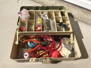 Stocked bait and tackle box for Sale in Mission Viejo, CA