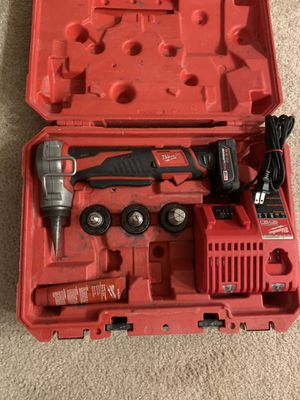 Milwaukee m12 propex expansion tool kit for Sale in Renton, WA
