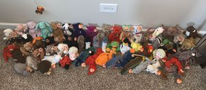 Ty Beanie Baby Lot 70+ Beanie Babies in excellent condition for Sale in Palatine, IL