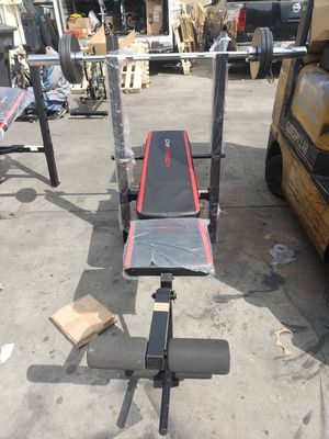Bench and weight for Sale in Bell, CA