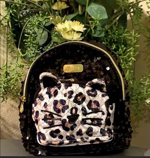 Justice Girls Sequin Kitty Mini Back Pack for Sale in Rancho Santa Margarita, CA