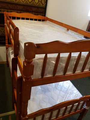 Twin Bunk Bed FRAME, New, Monticello for Sale in Monticello, MN